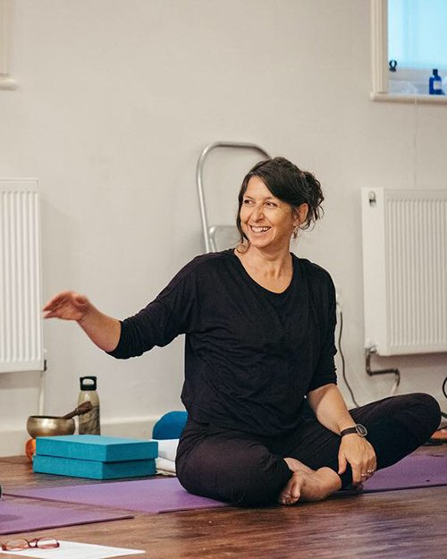 Jane Craggs Yoga Teacher Training